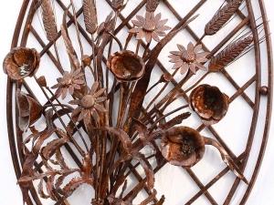 Fiori ferro battuto allufit for Decorazioni in ferro battuto