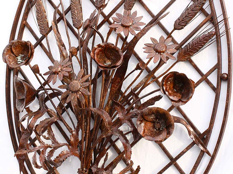 Decorazioni in ferro battuto allufit padova for Decorazioni in ferro battuto