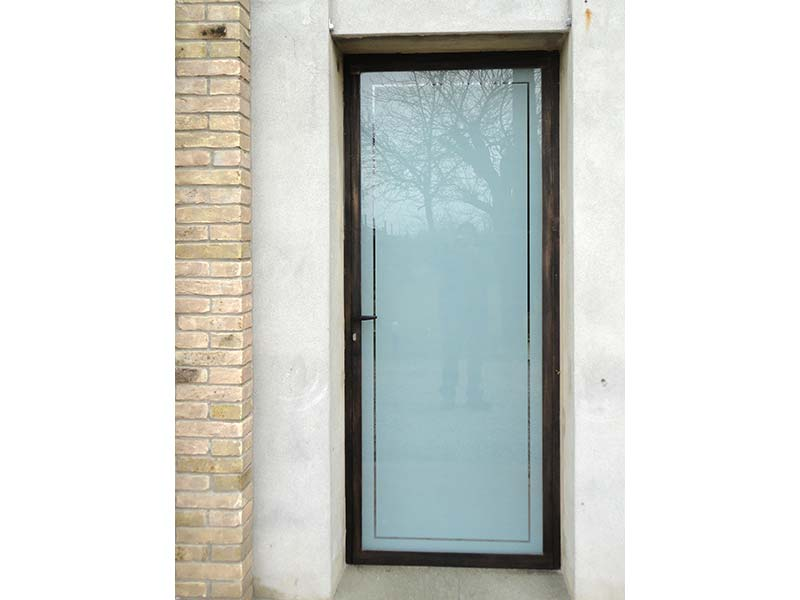 porta in ferro allufit